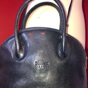 Desmo Firenze Bags - Fabulous Desmo embossed leather handbag